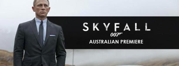 Skyfall Australian Premiere