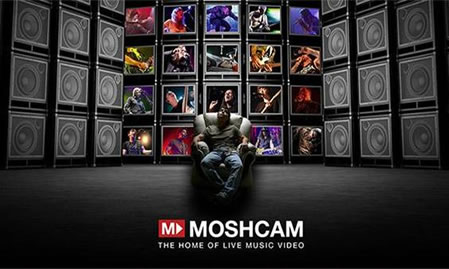 Moshcam's New Website