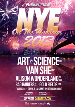 NYE on the Harbour