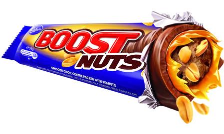 Cadbury Boost Nuts