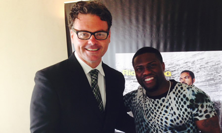 Ride Along Kevin Hart Interview