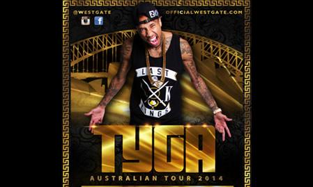 Tyga Australian Tour