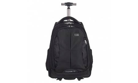 Commuter Rolling Laptop Backpack by Zoomlite
