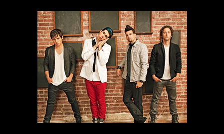 Marianas Trench Interview