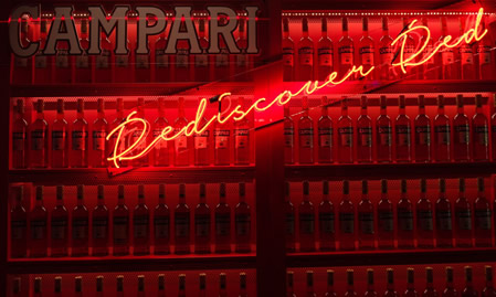 Rediscover Red with Campari
