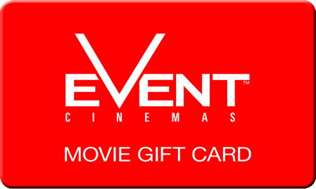 Event Cinemas Gift Cards