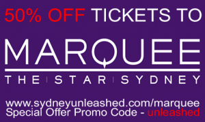 Marquee Sydney Discount Tickets