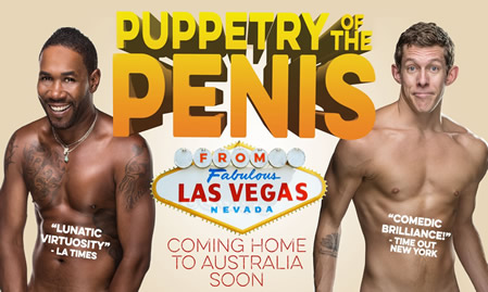Of shows Puppetry the penis
