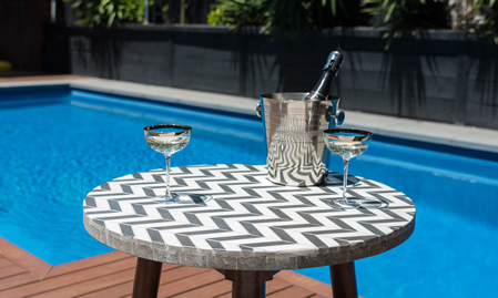 Vienna Woods Mosaic Coffee Table