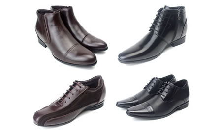 Taller: Designer Men's Shoes With Secret Height Increase
