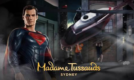 The Justice League swoops into Madame Tussauds