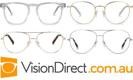 100 Free Designer Frames & Lenses at Vision Direct