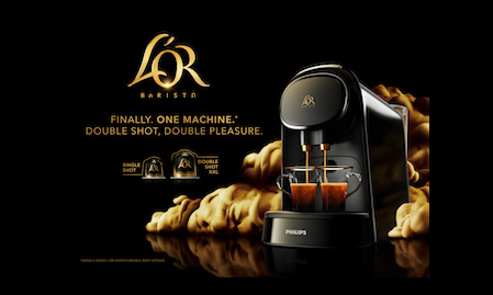 Experience the new L'OR Barista