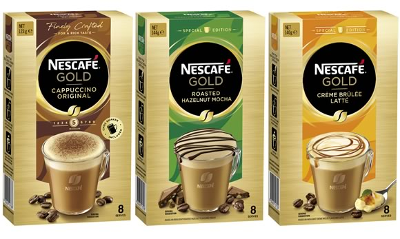Introducing NESCAFÉ Gold