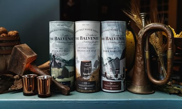 The Balvenie's New Whisky Range