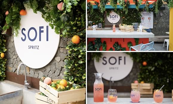 SOFI Spritz Summer Pop-Up at Bondi