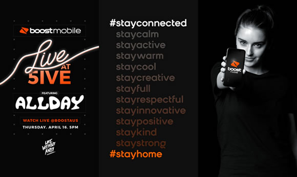 Boost Mobile Encourages Aussies to #Stayconnected