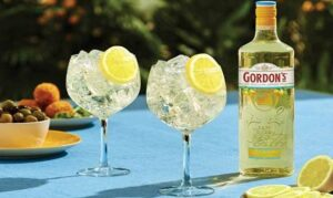 Gordon's Gin serves up zesty new Sicilian Lemon Distilled Gin