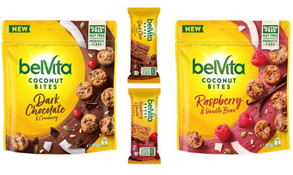 Make it a Brighter Morning with belVita's New Bakes and Coconut Bites