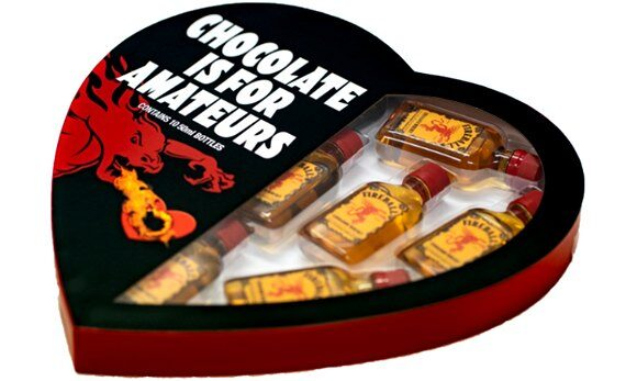 Fireball Unleash 'Chocolate Is For Amateurs' Valentine's Heart