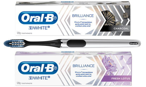 Add Sparkle To Your Smile with Oral-B's New Range