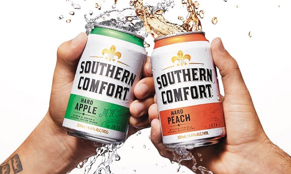 Southern Comfort launches new HARD Range