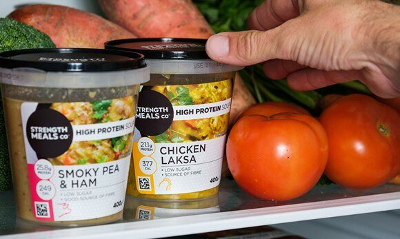 Strength Meals Co Launches High Protein Soup Pots